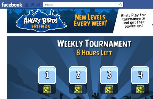 jugar Angry Birds Friends facebook