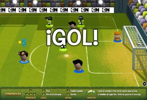 copa toon 2014 juego de futbol