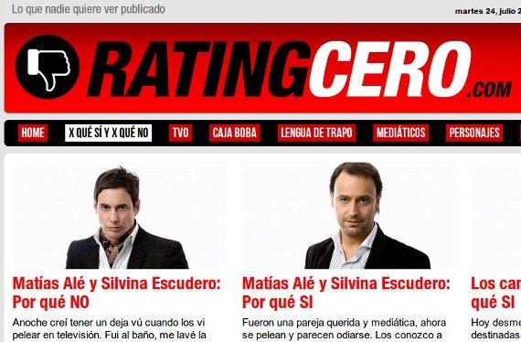 RatingCero noticias espectaculo