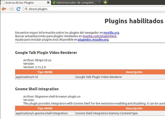 about plugins en firefox
