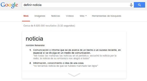 google como diccionario renovado