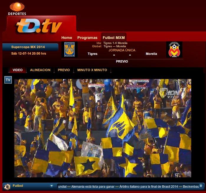 Deportes En Vivo Related Keywords & Suggestions - Televisa Deportes ...