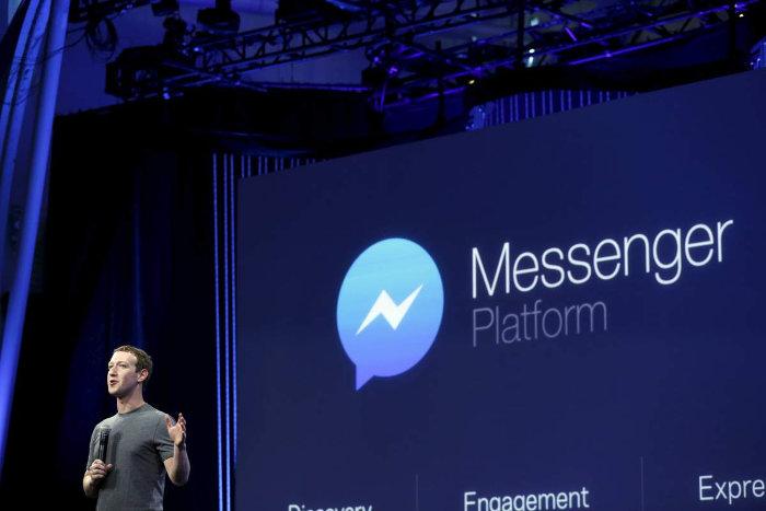 facebook messenger mark en conferencia