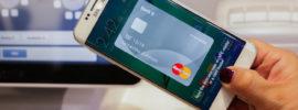 pagando con el smartphone